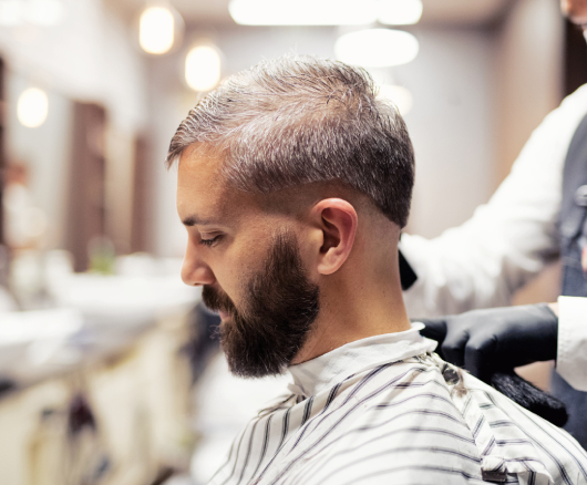 Men's Brush Back Hairstyle : Most Iconic Men's Haircut