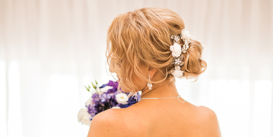 Wedding Updos: Long, Short, & Curly Hair